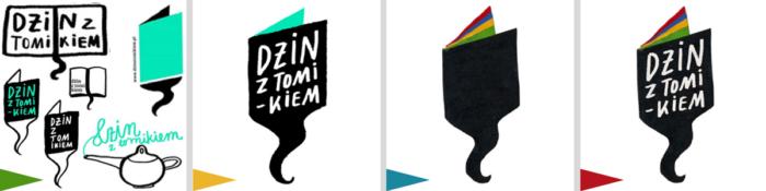 projekty logo Dominika Czerniak Dżin ztomikiem