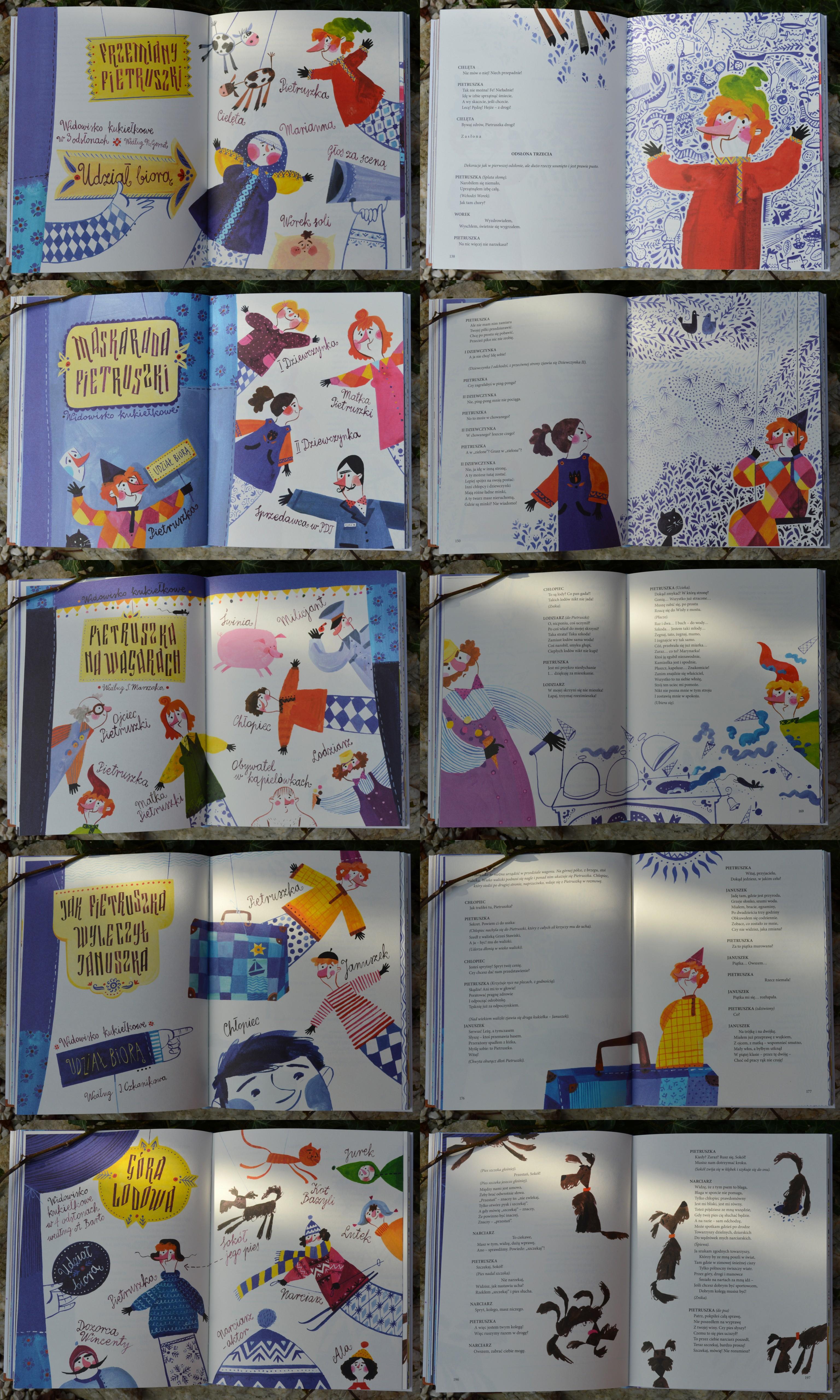 Książka Ze Scenami Brzechwa Dzieciom Dzieła Wszystkie