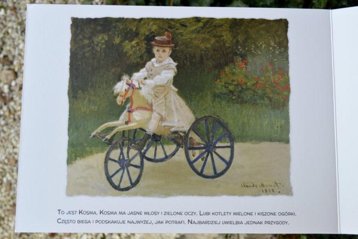 Malarze dzieciom Agnieszka Starok Wsekretnym ogrodzie Claude Monet