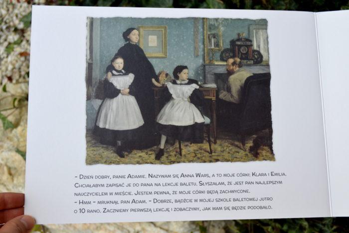 Malarze dzieciom Agnieszka Starok Baletnice Edgar Degas