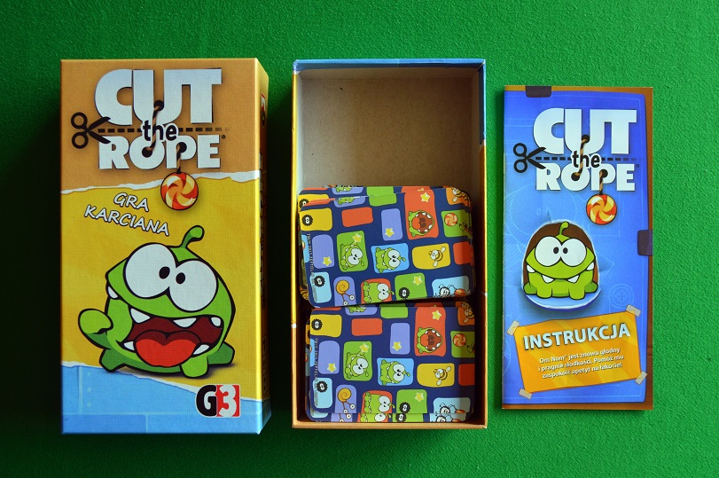 Cut the Rope g3 karcianka