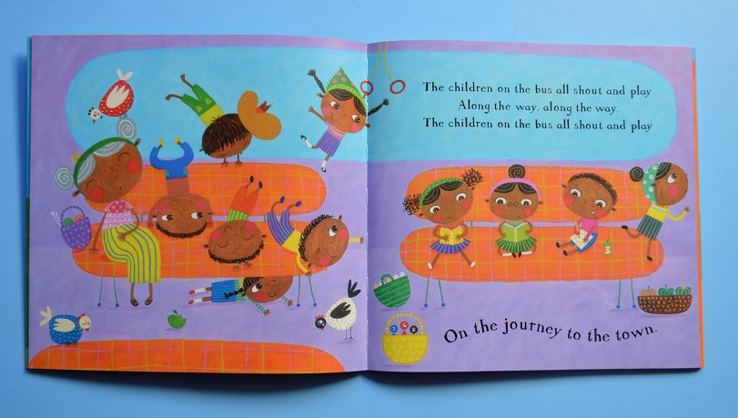 The Wheels on the Bus Barefoot Books