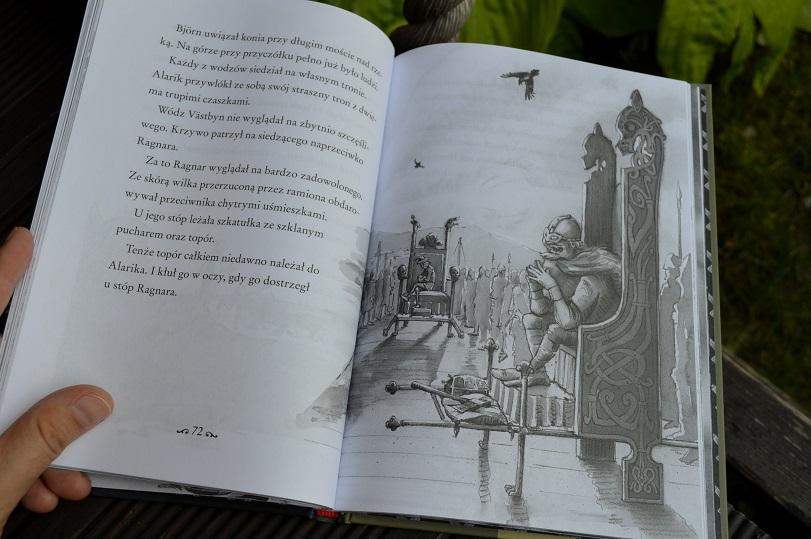 Grób obcego Martin Widmark wiking Halvdan Mamania