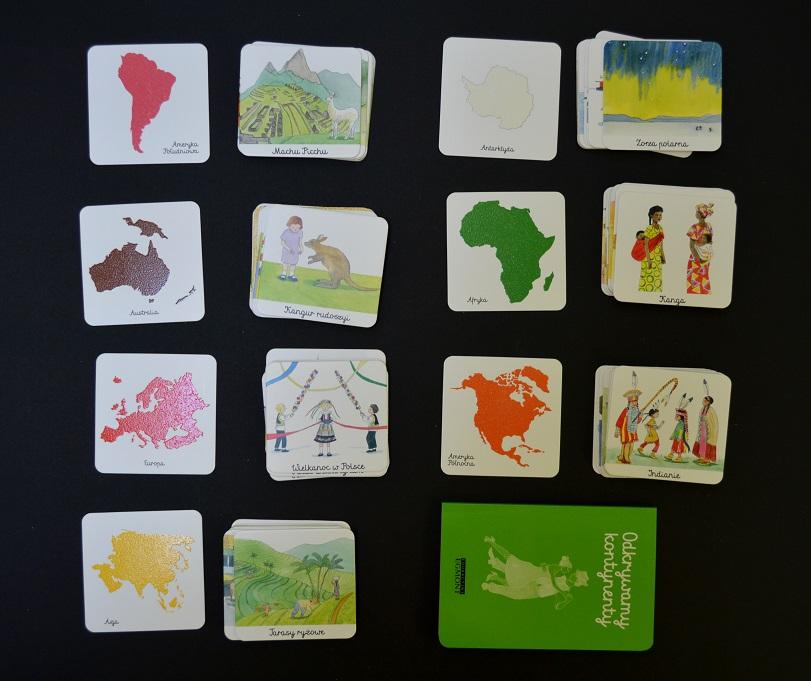 Biblioteczka Montessori Świat Egmont