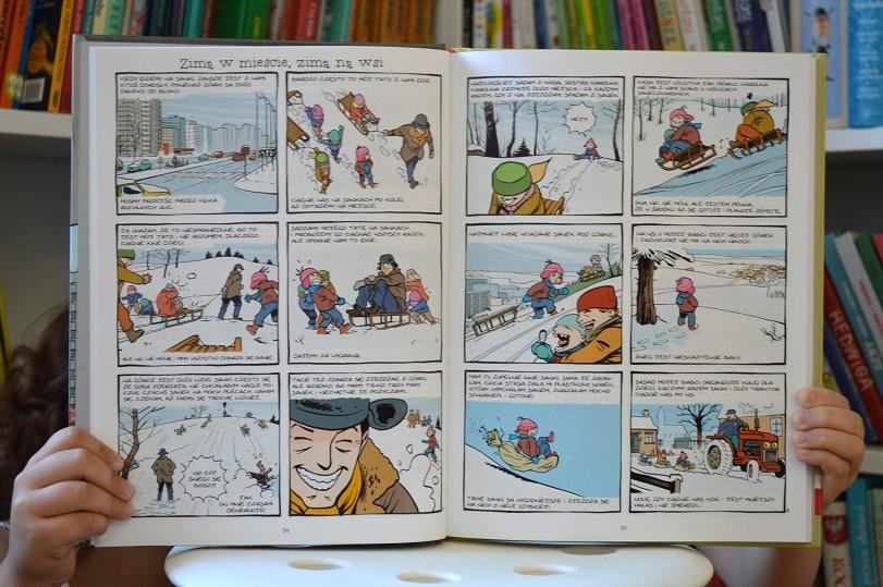 Marzi. Dzieci iryby głosu niemają Marzena Sowa Sylvain Savoia Egmont komiks