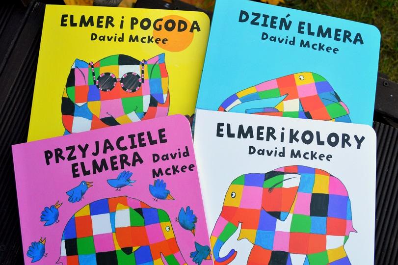Elmer kartonówka David McKee Papilon