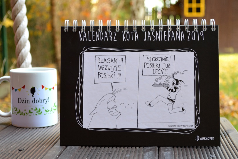 Kalendarz kota Jaśniepana 2019