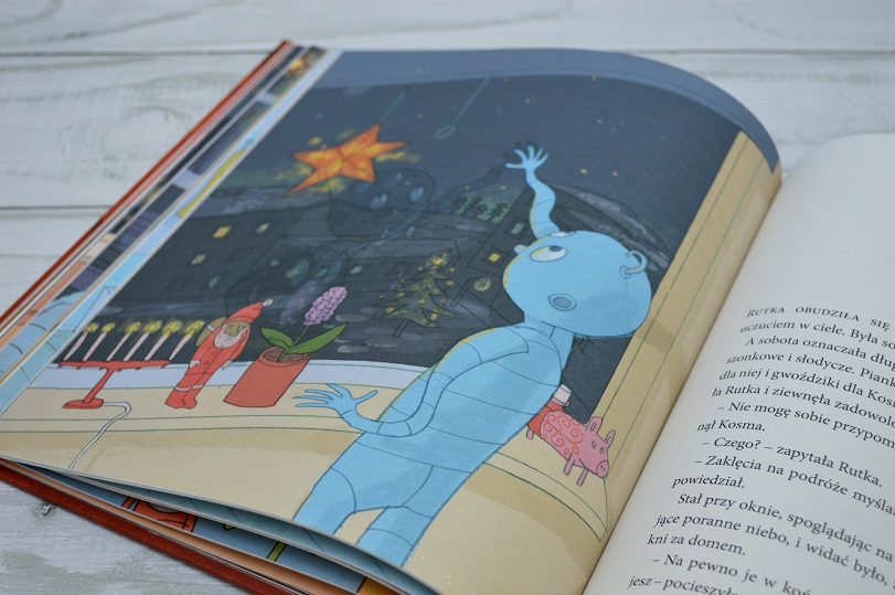 Kosmiczne święta Zakamarki książka adwentowa