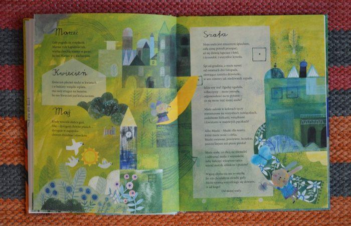Książka Z Wierszami Na Cały Rok Wiosna Lato Jesień